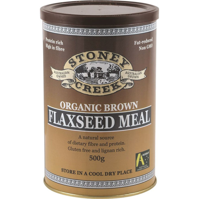 Stoney Creek, Organic Flaxseed Meal Brown, 500g