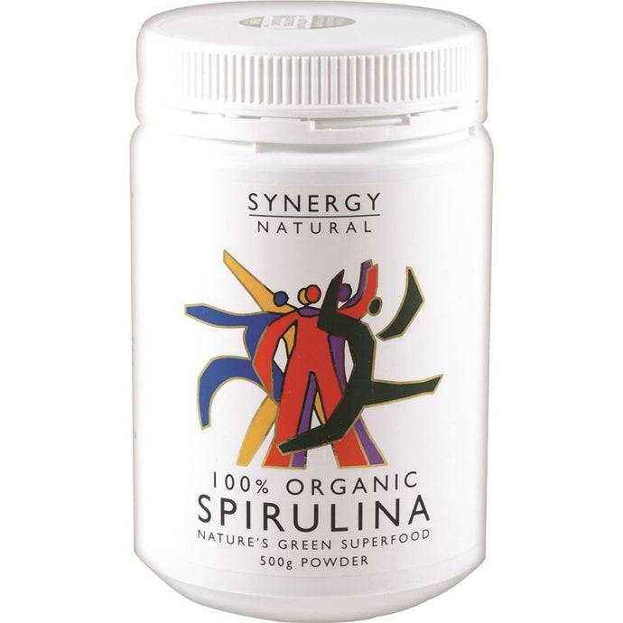 Synergy Natural, Organic Spirulina Powder, 500g