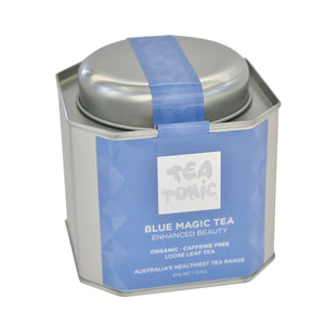 Tea Tonic, Blue Magic Tea Tin, 60g