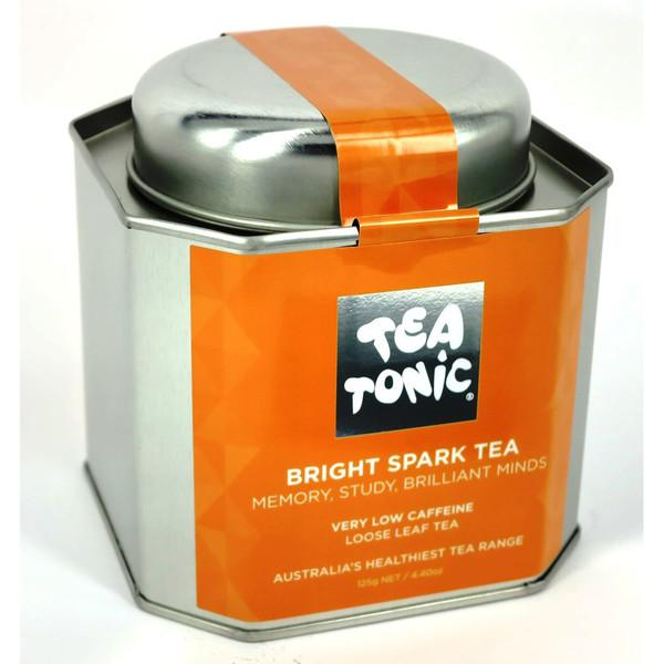 Tea Tonic, Bright Spark Tea Tin, 125g