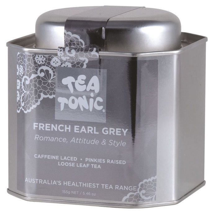 Tea Tonic, French Earl Grey Tea Tin, 155g