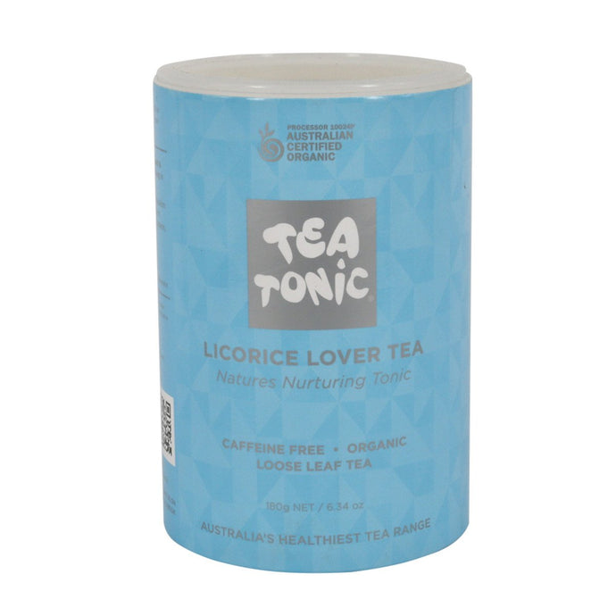Tea Tonic, Organic Licorice Lover Tea Tube, 180g