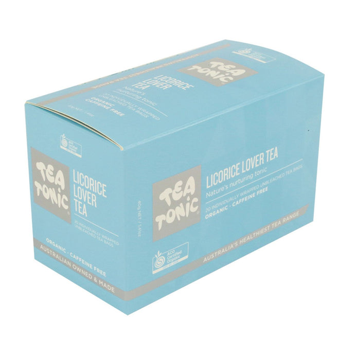 Tea Tonic, Organic Licorice Lover Tea x 20 Tea Bags