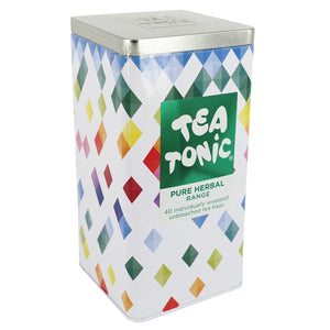 Tea Tonic, Organic Pure Herbal Range Tin x 40 Tea Bags