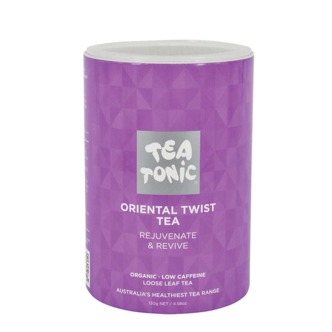 Tea Tonic, Oriental Twist Tea Tube, 160g