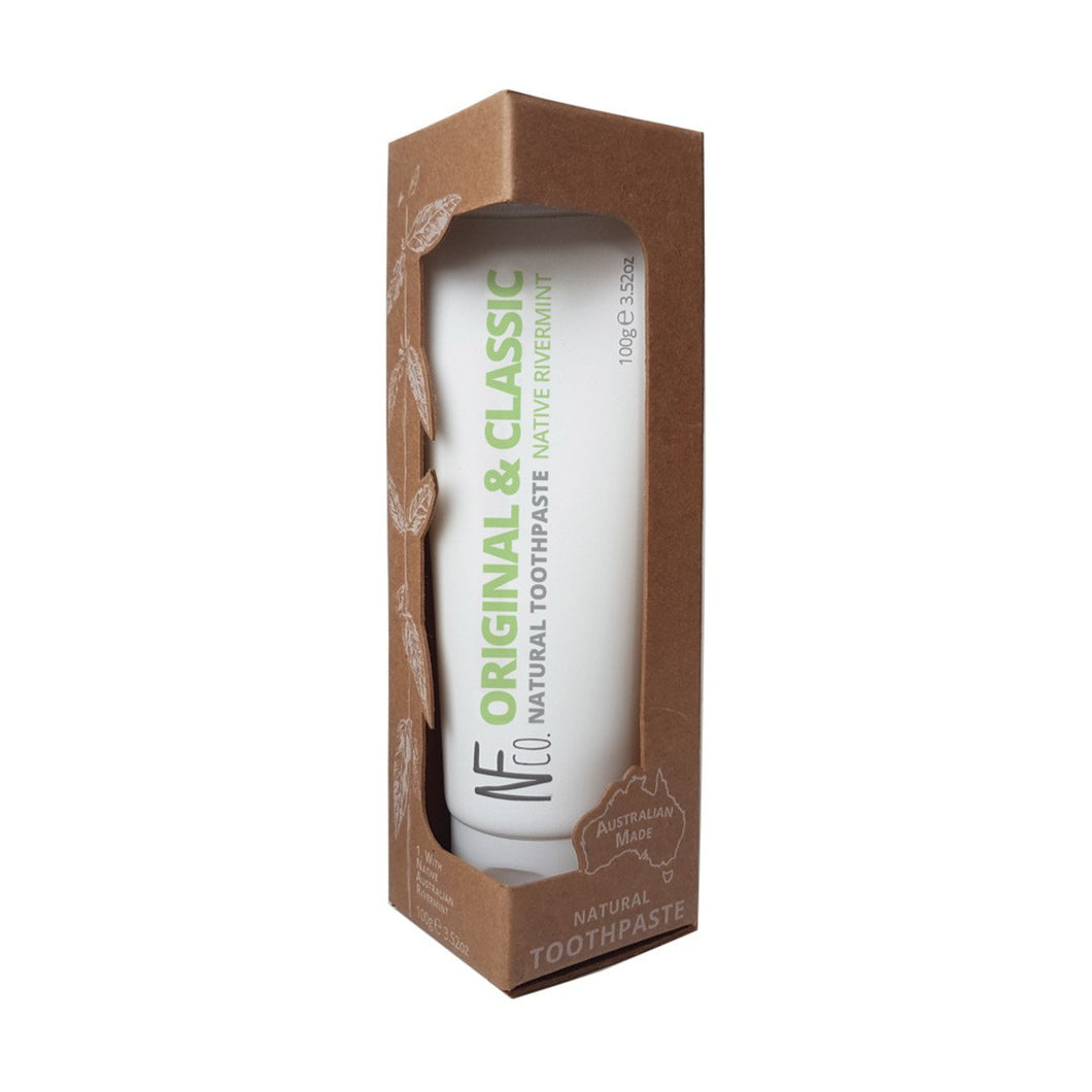 The Natural Family Co,. Natural Toothpaste Original, 100g