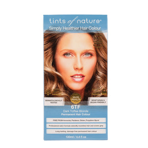 Tints Of Nature, Permanent Hair Colour Dark Toffee Blonde, 6 Tf