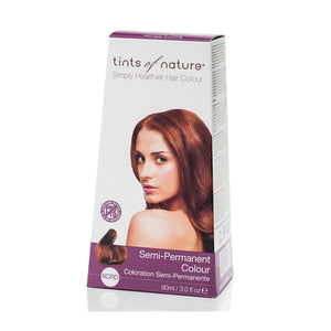 Tints Of Nature, Semi-Permanent Hair Colour Copper Red, 6 Capsulesrd