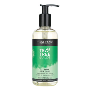 Tisserand, All Over Skin Wash Tea Tree And Aloe, 250ml