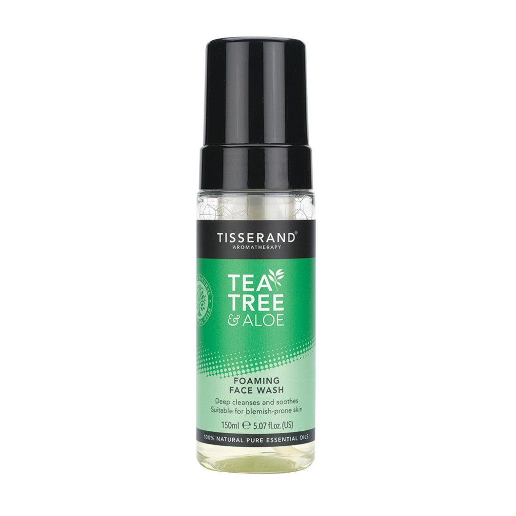 Tisserand, Foaming Face Wash Tea Tree And Aloe, 150ml