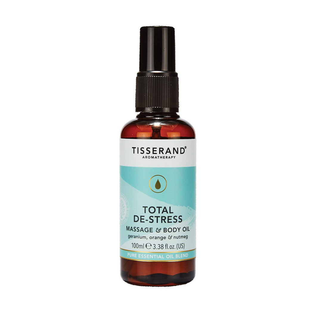 Tisserand, Massage And Body Oil Total De Stress, 100ml