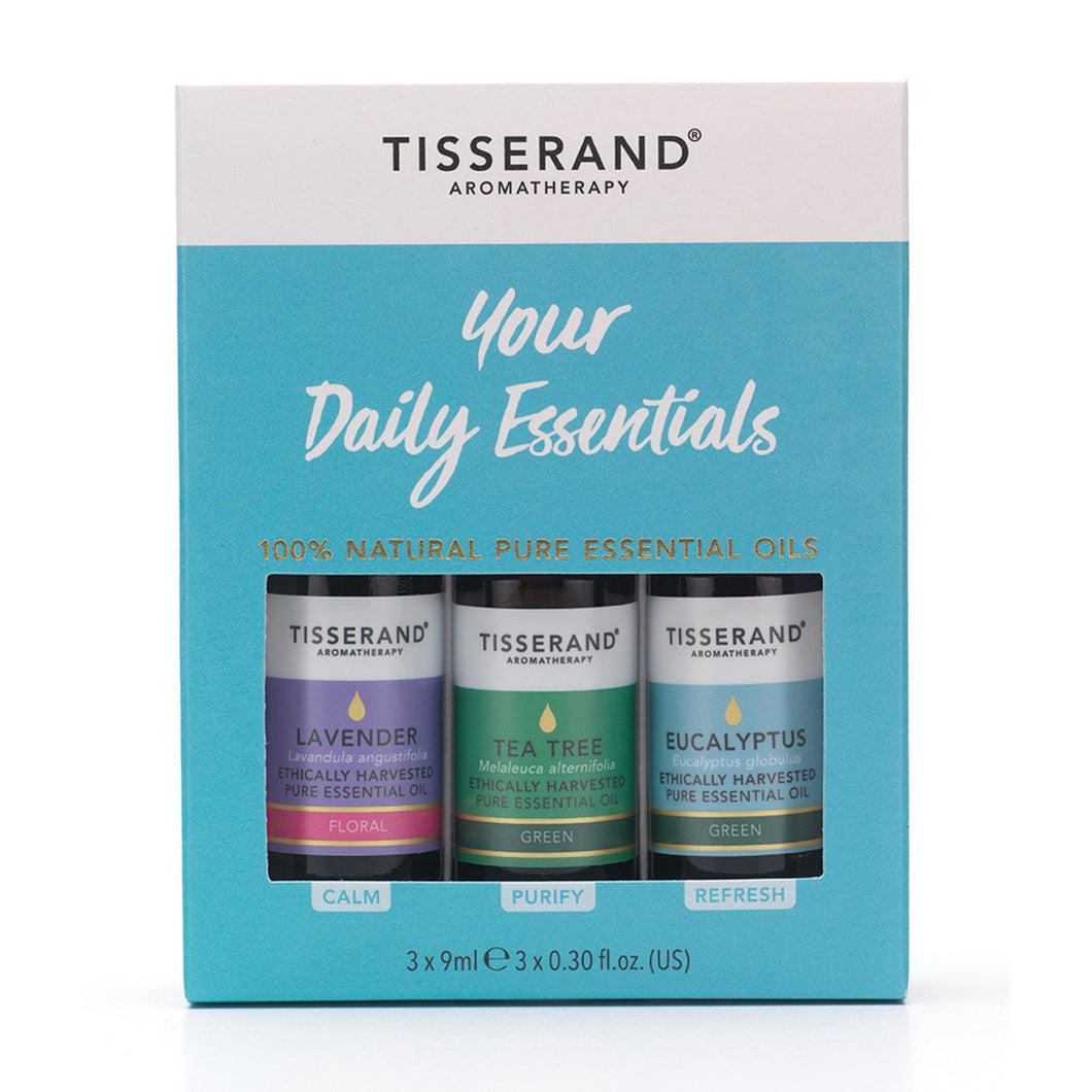Tisserand, Your Daily Essential Oils, 9ml x 3 Pack