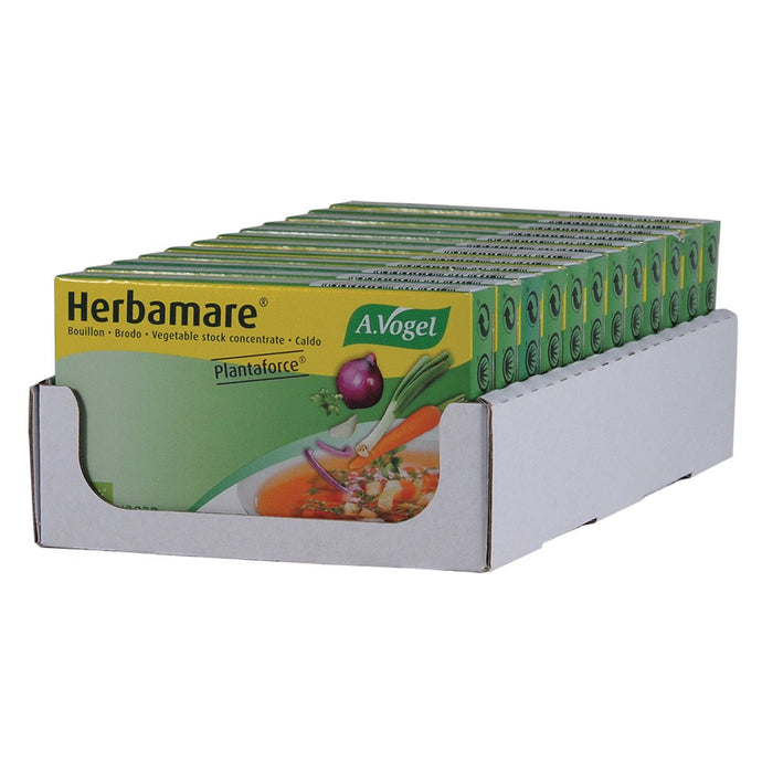Vogel, Herbamare Bouilion Organic Vegetable Stock Cubes (11g x 8) x 12 Display