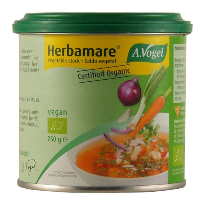 Vogel, Herbamare Organic Vegetable Stock, 250g