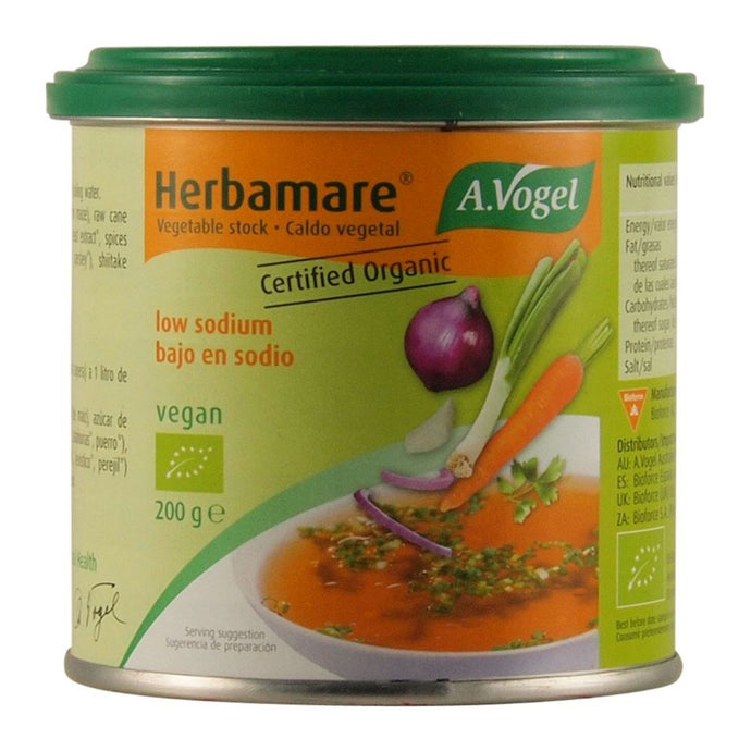 Vogel, Herbamare Organic Vegetable Stock Low Sodium, 200g