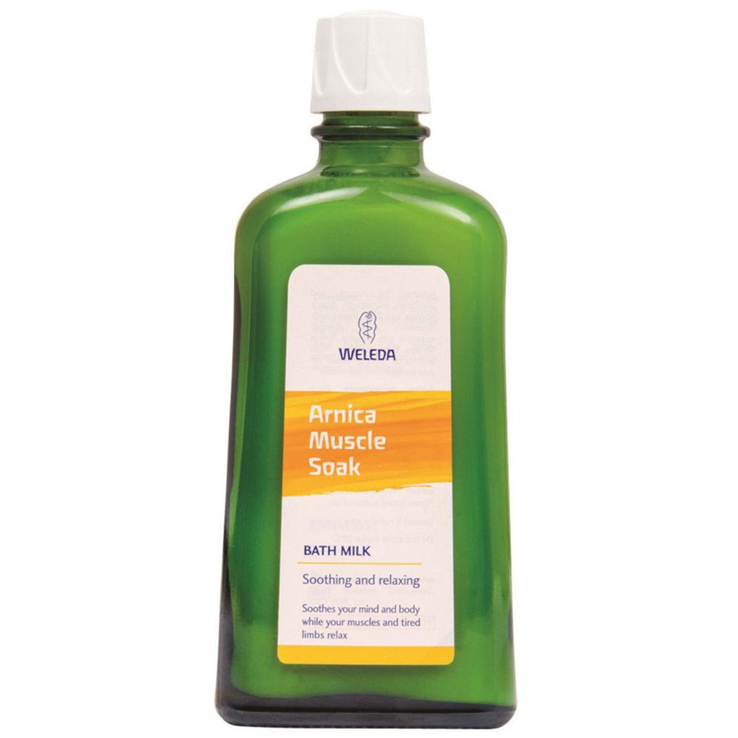 Weleda, Arnica Muscle Soak Bath Milk, 200ml