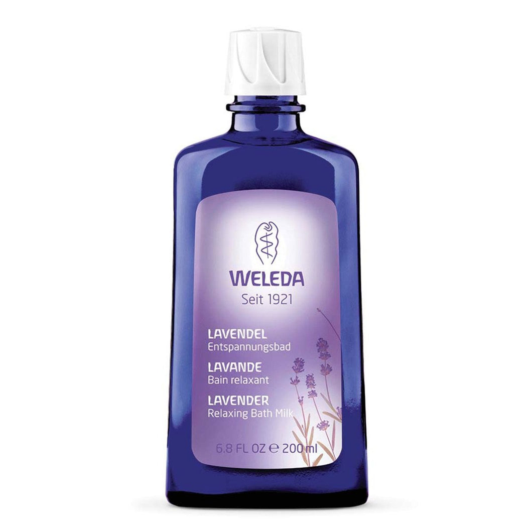 Weleda, Lavender Relaxing Bath Milk, 200ml