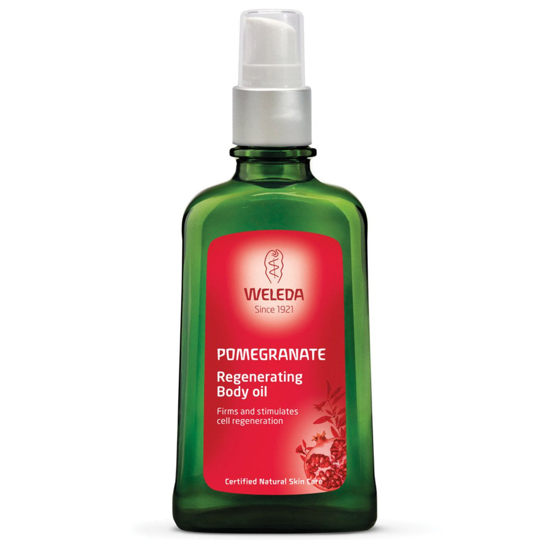 Weleda, Pomegranate Regenerating Body Oil, 100ml