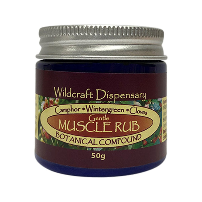 Wildcraft Dispensary, Gentle Muscle Rub Natural Ointment, 50g