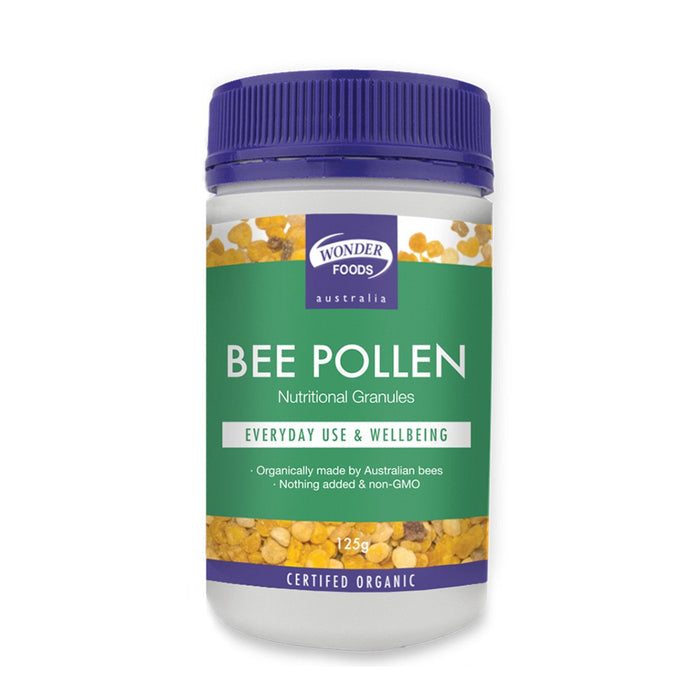 Wonder Foods, Organic Bee Pollen, 125g