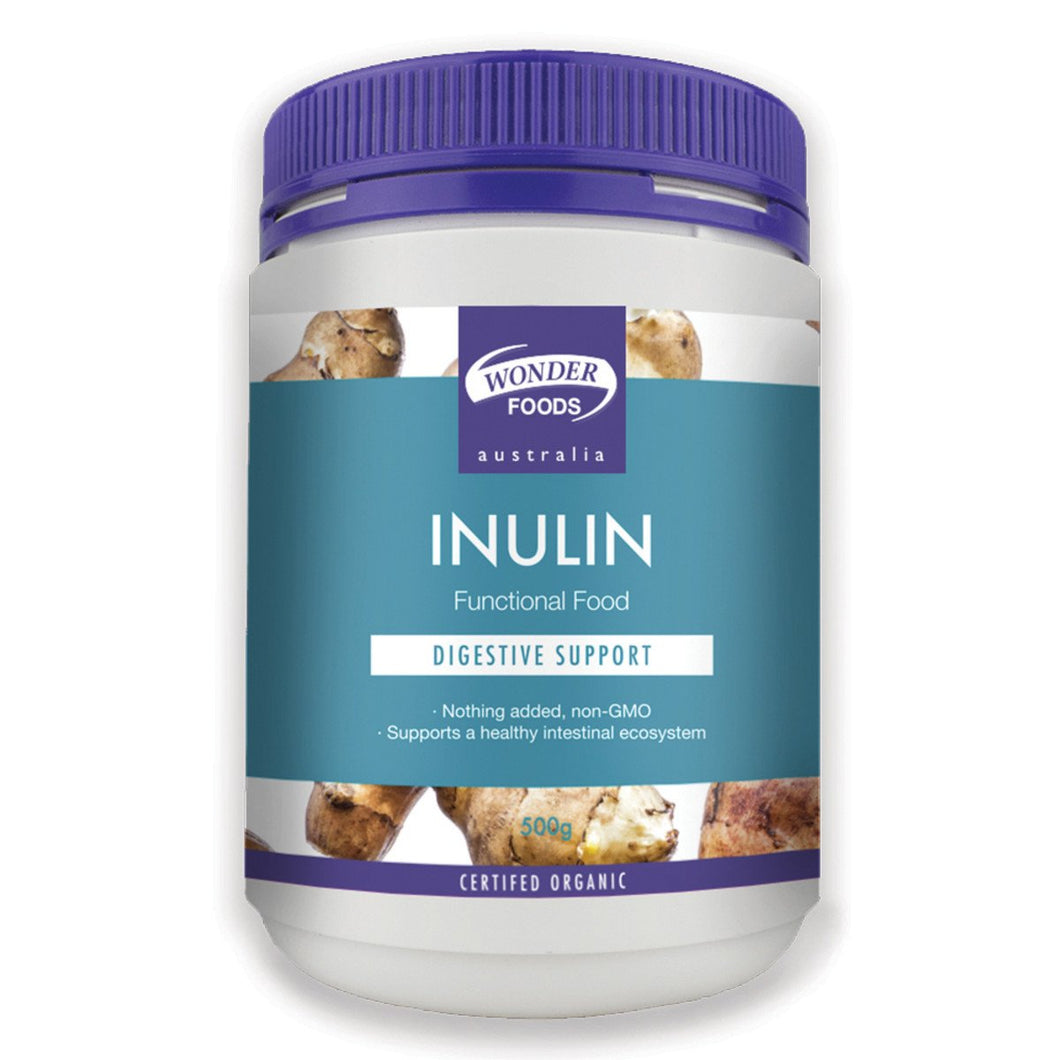 Wonder Foods, Organic Inulin, 500g