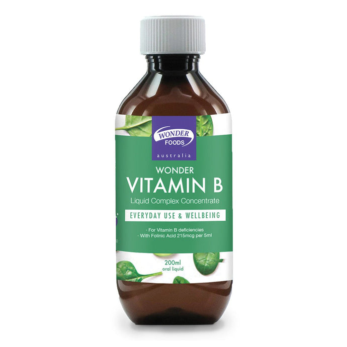 Wonder Foods, Wonder Vitamin B, 200ml
