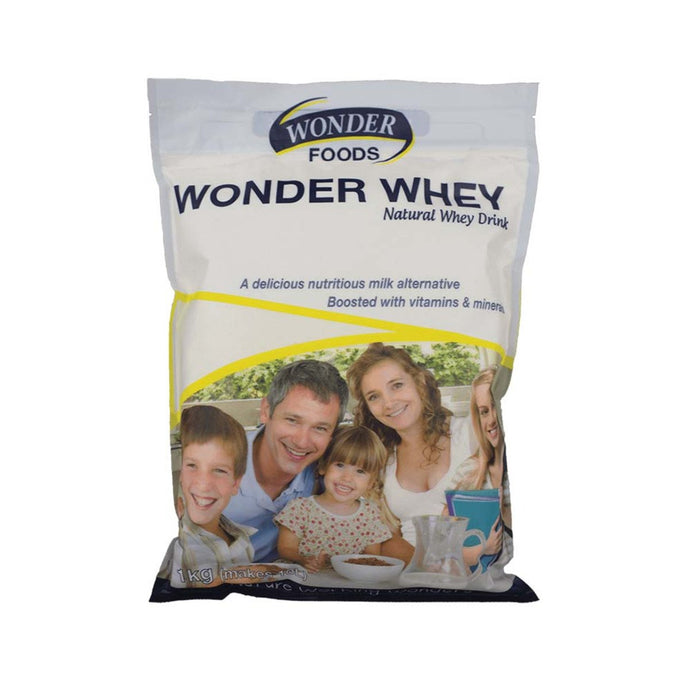 Wonder Foods, Wonder Whey (Natural Whey Drink), 1Kg Powder