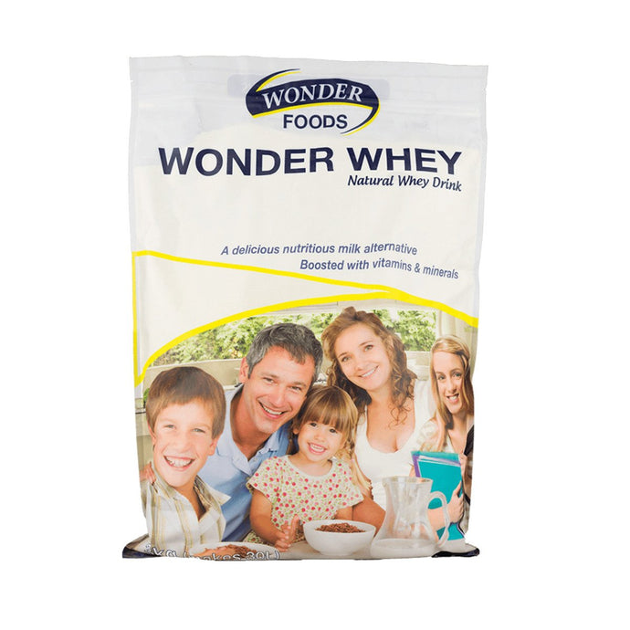Wonder Foods, Wonder Whey (Natural Whey Drink), 3Kg Powder
