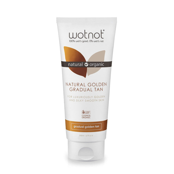 Wotnot, Natural Golden Gradual Tan Lotion, 200ml