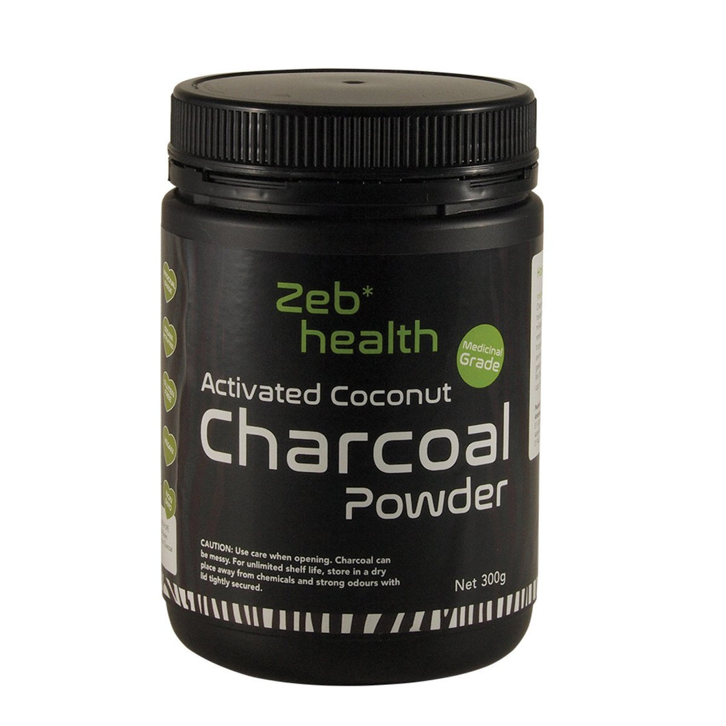 Zeb Health, Activated Coconut Charcoal Powder, 300g