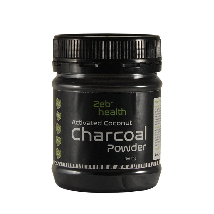 Zeb Health, Activated Coconut Charcoal Powder, 75g