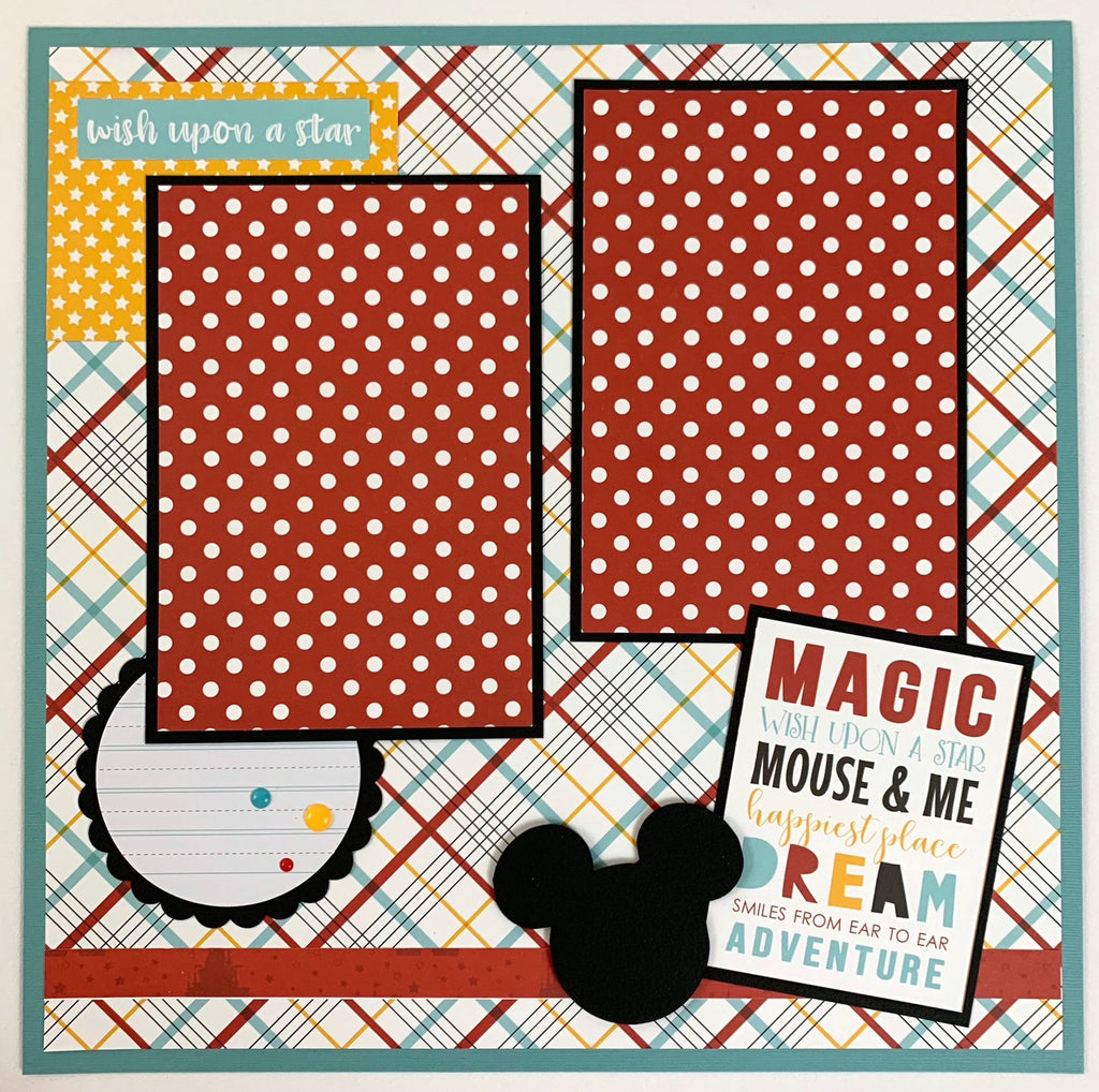 Disney Scrapbook Page Kit by Artsy Albums