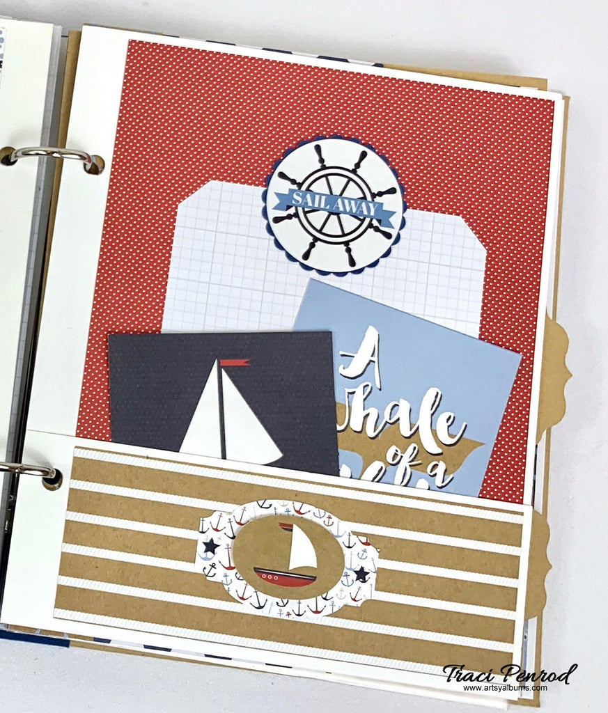 By the Sea Nautical Album Instructions, Digital Download