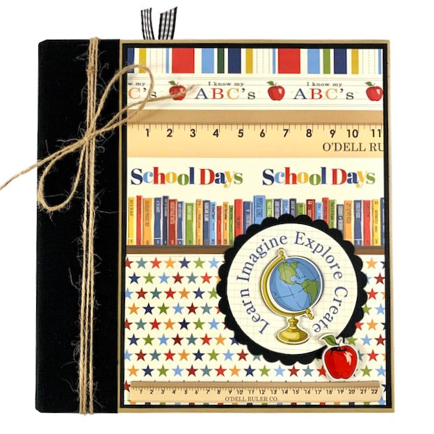 Preassembled School Scrapbook Album Elementary Middle School High School College