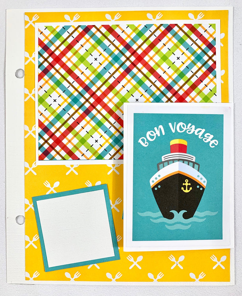 Cruise Scrapbook Album