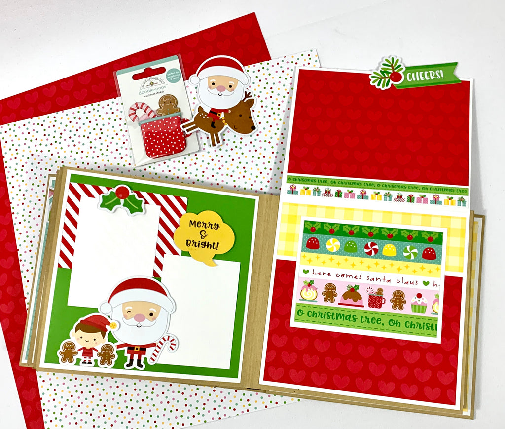 Christmas Mini Scrapbook Album