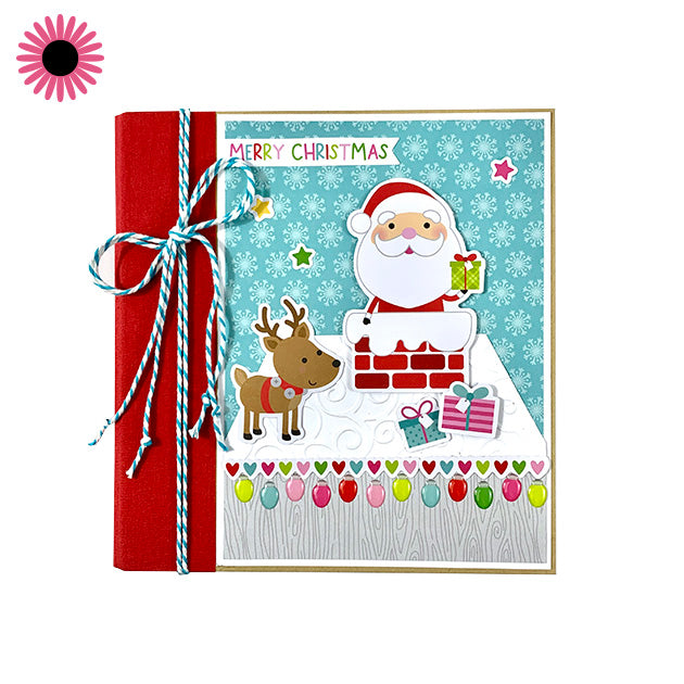 Christmas at Home Scrapbook Album Do It Yourself Kit