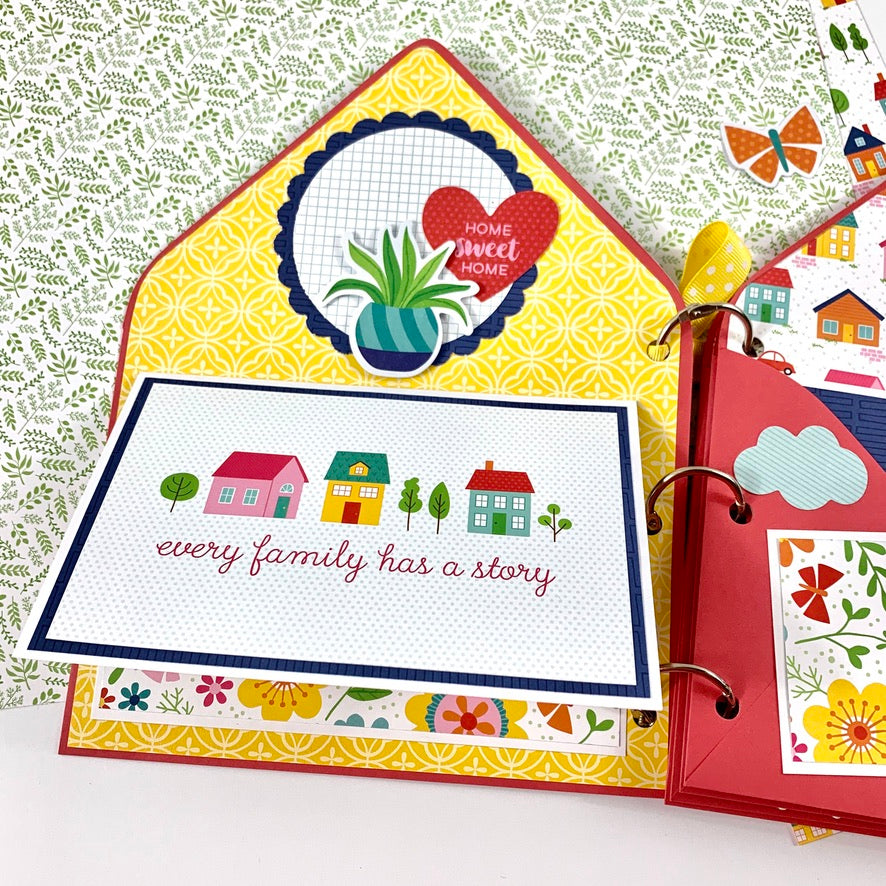 Home Together Envelope Album Digital Instructions
