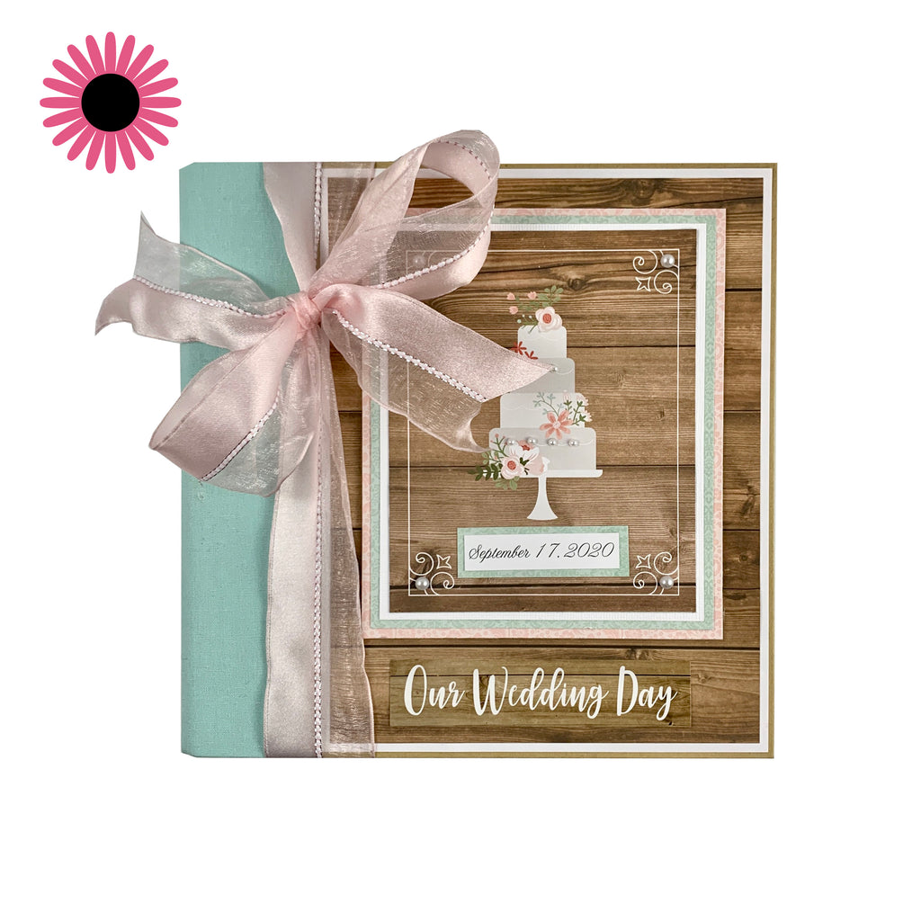 Our Wedding Scrapbook Album Kit
