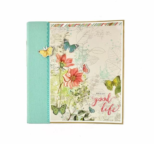 Good Life Scrapbook Album Instructions, Digital Download
