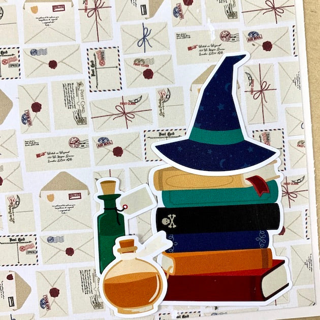 Wizard Magic Scrapbook Album Kit