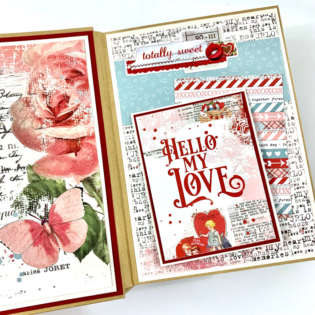 I'll Always Choose You Preassembled Scrapbook