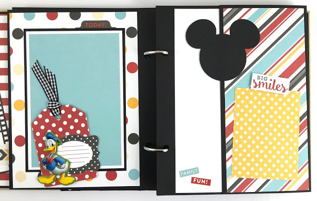 Mouse Memories, Disney Themed Album Instructions, Digital Download