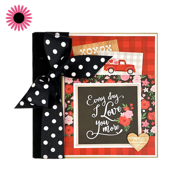 Love You More Scrapbook Album Kit