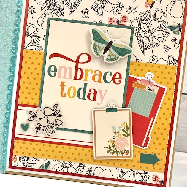 Embrace Today, 12 Month Scrapbook Album Kit