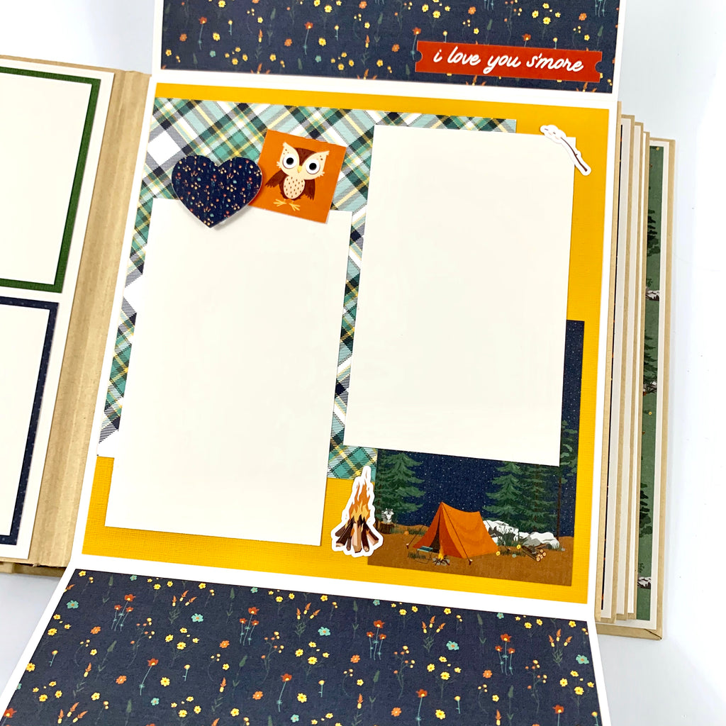 Outdoor Adventure Scrapbook Album Kit