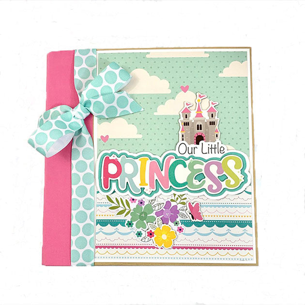 Princess Scrapbook Album Preassembled