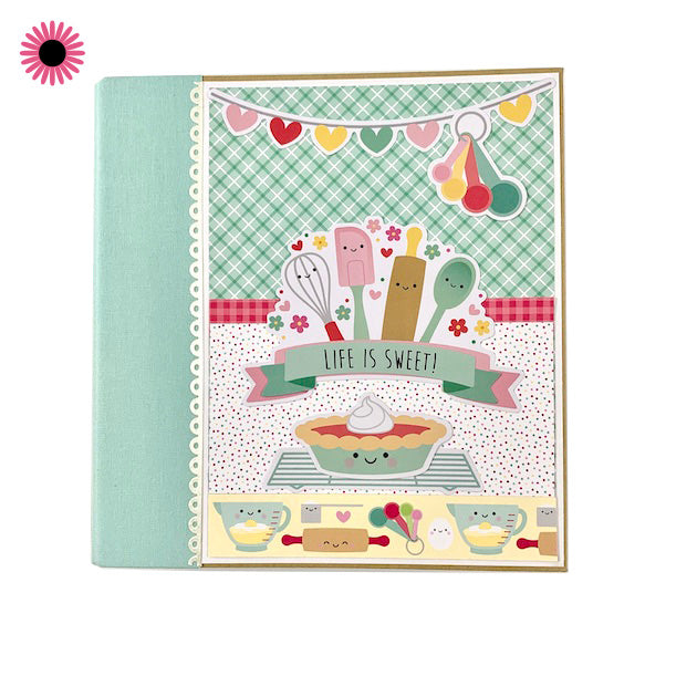 Life Is Sweet Recipe Scrapbook Album Kit