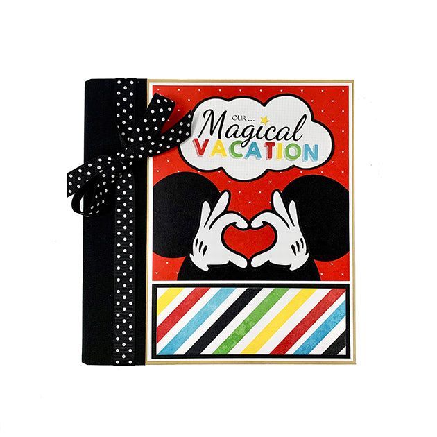 Magical Vacation Scrapbook Album Kit