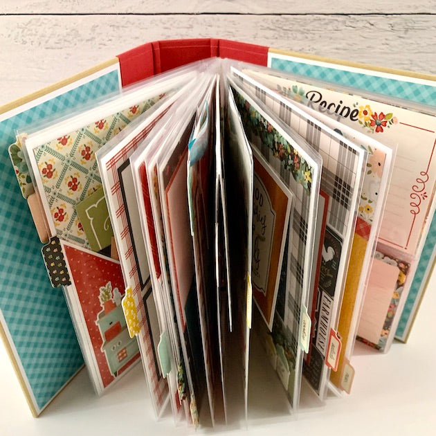 PreOrder: Recipe Scrapbook Album Kit
